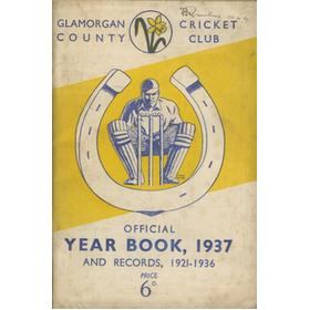 GLAMORGAN COUNTY CRICKET CLUB YEAR BOOK 1937