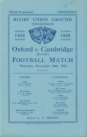 Oxford & Cambridge
