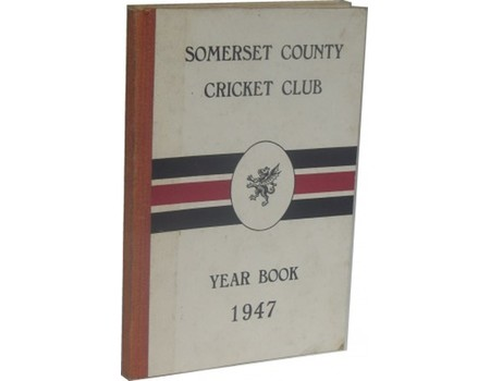 SOMERSET COUNTY CRICKET CLUB YEARBOOK 1947