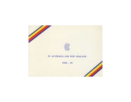 ENGLAND 1958-59 (OFFICIAL CHRISTMAS CARD)