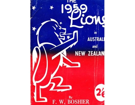 THE 1959 LIONS IN AUSTRALIA AND NEW ZEALAND