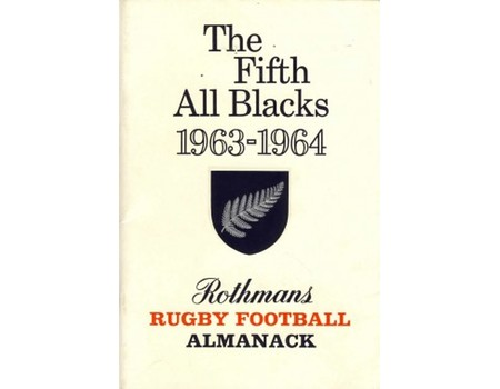 THE FIFTH ALL BLACKS 1963-1964