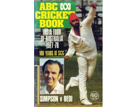 ABC CRICKET BOOK: INDIA TOUR OF AUSTRALIA 1977-78