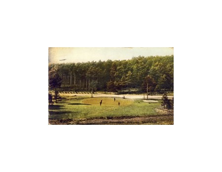 BOURNEMOUTH & MEYRICK PARK GOLF CLUB (DORSET) GOLF POSTCARD