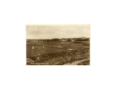 FRINTON GOLF CLUB (ESSEX) GOLF POSTCARD