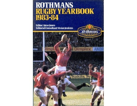 ROTHMANS RUGBY YEARBOOK 1983-84