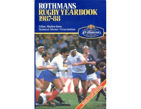 ROTHMANS RUGBY YEARBOOK 1987-88