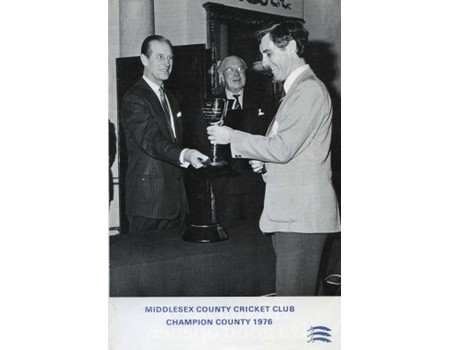 MIDDLESEX COUNTY CRICKET CLUB ANNUAL REPORT 1976
