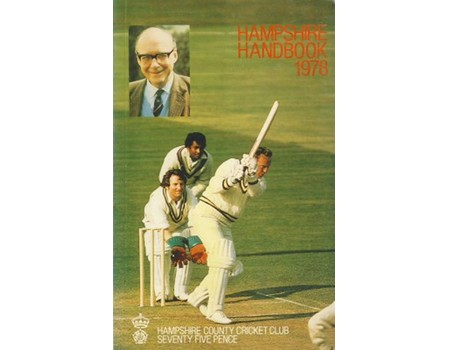HAMPSHIRE COUNTY CRICKET CLUB ILLUSTRATED HANDBOOK 1978
