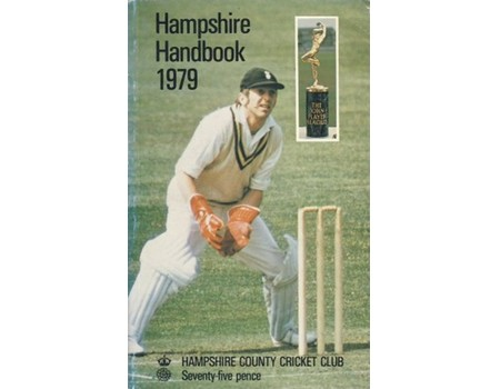 HAMPSHIRE COUNTY CRICKET CLUB ILLUSTRATED HANDBOOK 1979