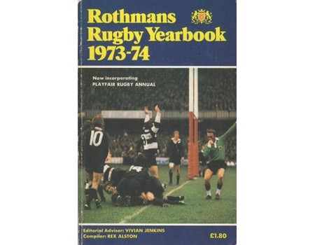 ROTHMANS RUGBY YEARBOOK 1973-74