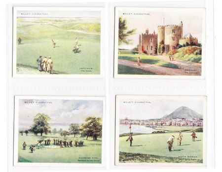 GOLFING 1924 (WILLS) CIGARETTE CARDS