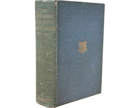 A HISTORY OF THE CAMBRIDGE UNIVERSITY CRICKET CLUB 1820-1901
