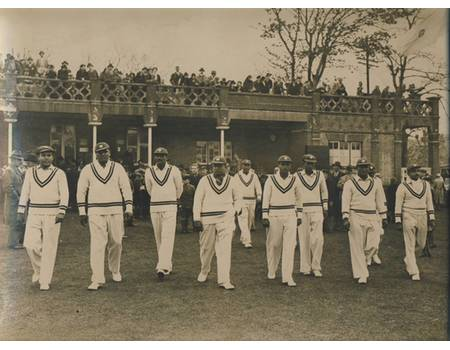 INDIA 1936 (OPENING MATCH AT GRAVESEND)