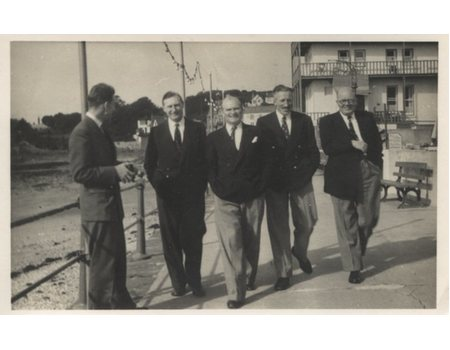 BOURNEMOUTH RUGBY CLUB TOUR TO JERSEY 1953