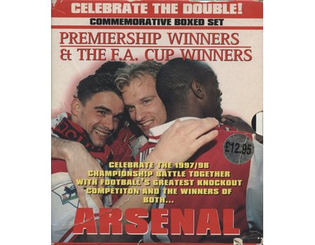 ARSENAL: CELEBRATE THE DOUBLE! (COMMEMORATIVE BOXED SET )