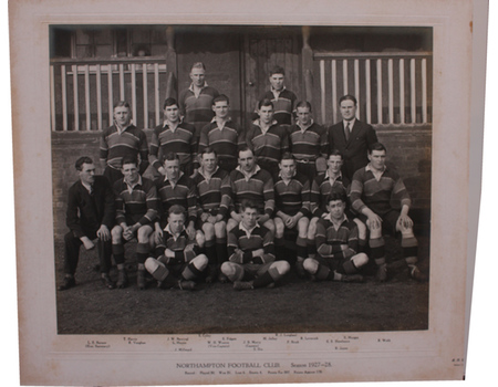 NORTHAMPTON RUGBY FOOTBALL CLUB 1927-28