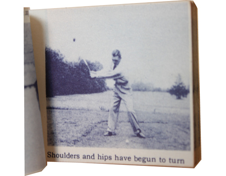 "BEN HOGAN ""MAGIC-EYE"" FLICKER BOOK - SMASHING DRIVE"