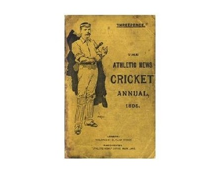 ATHLETIC NEWS CRICKET ANNUAL 1895