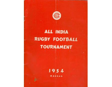 ALL INDIA RUGBY FOOTBALL TOURNAMENT 1954 (MADRAS)