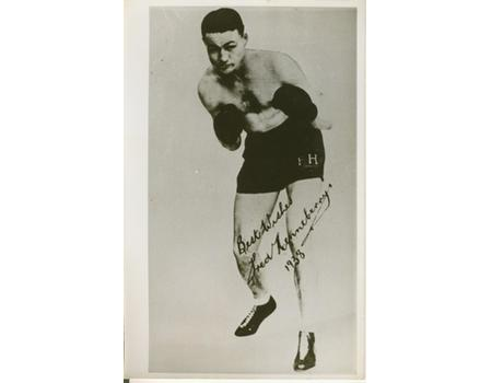 FRED HENNEBERRY (AUSTRALIA) BOXING PHOTOGRAPH