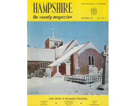 HAMPSHIRE COUNTY MAGAZINE 1965-1968 (6 ISSUES FEATURING ARTICLES BY JOHN ARLOTT)