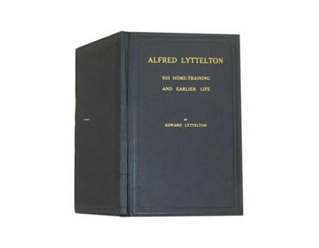 ALFRED LYTTELTON. HIS HOME-TRAINING AND EARLIER LIFE