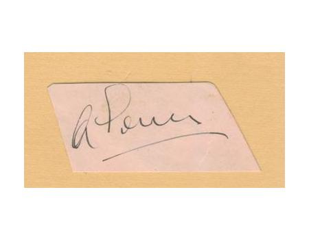 ALF GOVER (SURREY & ENGLAND) cricket autograph