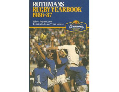 ROTHMANS RUGBY YEARBOOK 1986-87