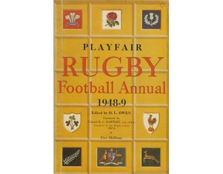 PLAYFAIR RUGBY FOOTBALL ANNUAL 1948-49