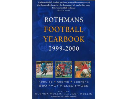 ROTHMANS FOOTBALL YEARBOOK 1999-2000