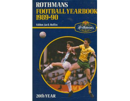 ROTHMANS FOOTBALL YEARBOOK 1989-90