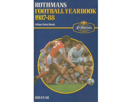 ROTHMANS FOOTBALL YEARBOOK 1987-88