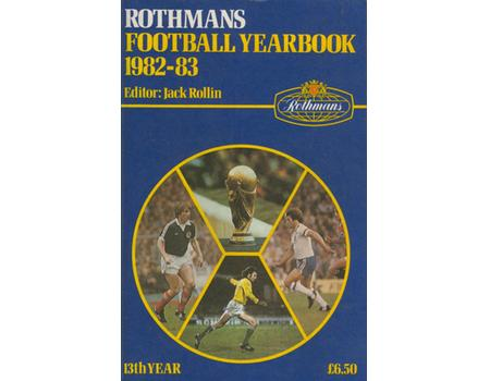 ROTHMANS FOOTBALL YEARBOOK 1982-83