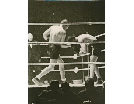 JACK PETERSEN V WALTER NEUSEL 1935 BOXING PHOTOGRAPH