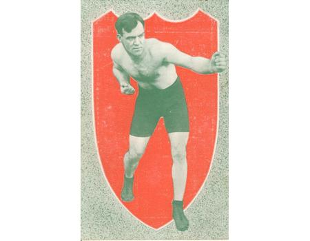 ARTHUR PELKEY (CANADA) BOXING PROMOTIONAL CARD