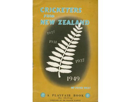 CRICKETERS FROM NEW ZEALAND 1949