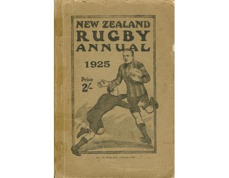 NEW ZEALAND RUGBY ANNUAL 1925
