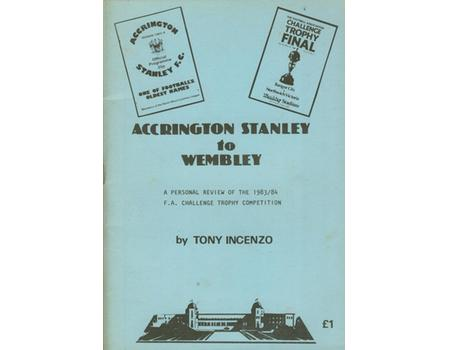 ACCRINGTON STANLEY TO WEMBLEY