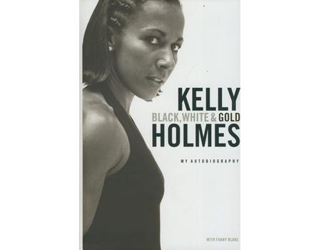 KELLY HOLMES - BLACK, WHITE AND GOLD