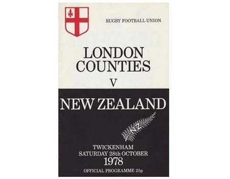 LONDON COUNTIES V NEW ZEALAND 1978