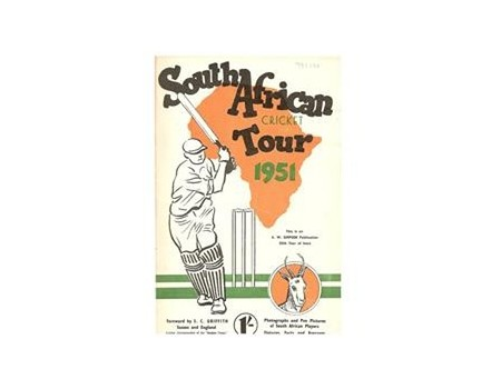 SOUTH AFRICAN CRICKET TOUR 1951