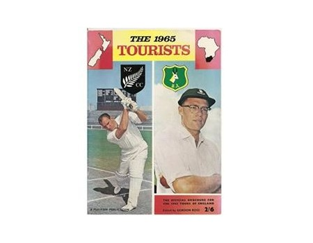 THE 1965 TOURISTS: THE OFFICIAL BROCHURE FOR THE 1965 TOURS OF ENGLAND BY NEW ZEALAND AND SOUTH AFRICA