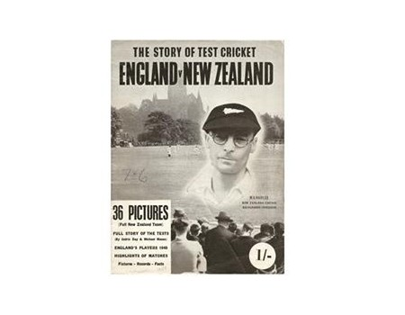 THE STORY OF TEST CRICKET: ENGLAND V NEW ZEALAND