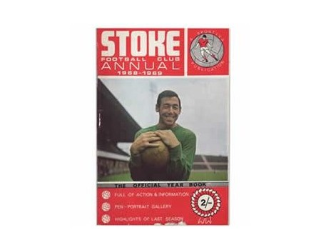 STOKE CITY OFFICIAL YEAR BOOK 1968-69