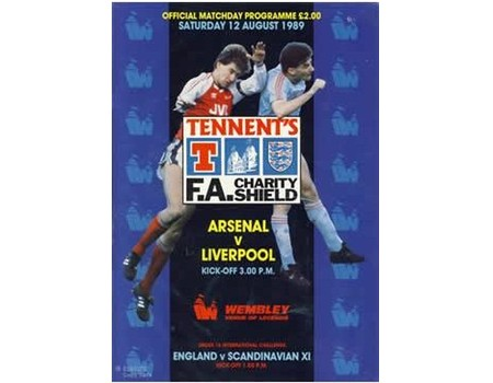 ARSENAL V LIVERPOOL 1989 (CHARITY SHIELD) FOOTBALL PROGRAMME