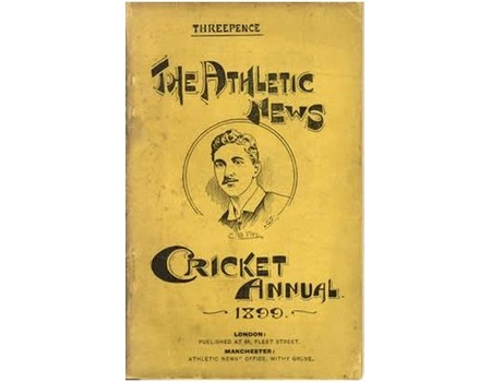 ATHLETIC NEWS CRICKET ANNUAL 1899