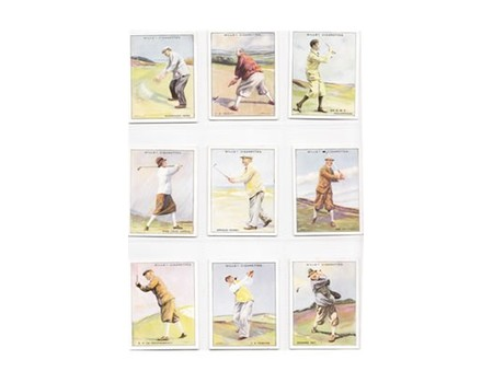 FAMOUS GOLFERS 1930 (WILLS) CIGARETTE CARDS