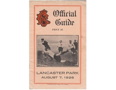 CANTERBURY RUGBY FOOTBALL UNION (NEW ZEALAND): OFFICIAL GUIDE,...1926