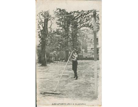 FRENCH POLE VAULTER - ATHLETICS POSTCARD
